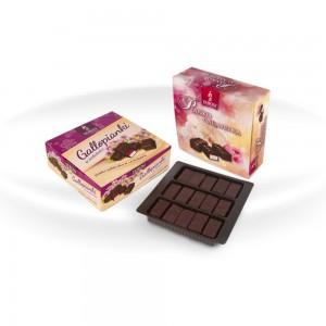 Pianko-galaretka w czekoladzie