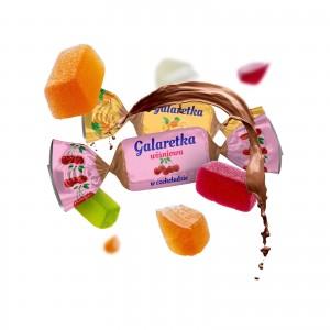Galaretka w czekoladzie