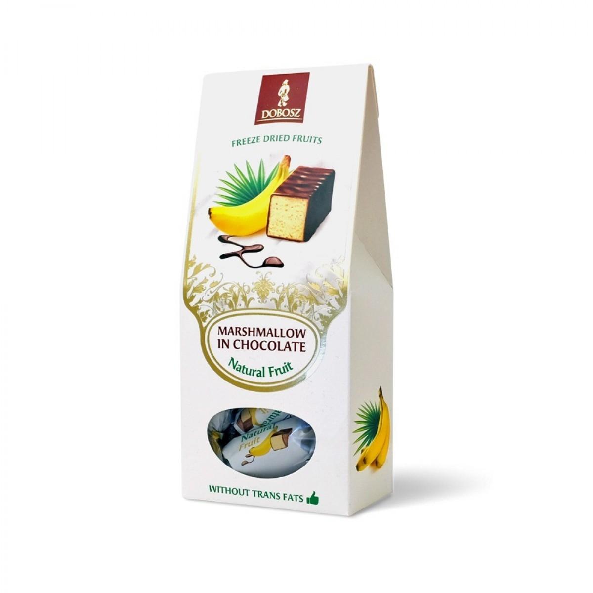 Mleczko w czekoladzie - banan
