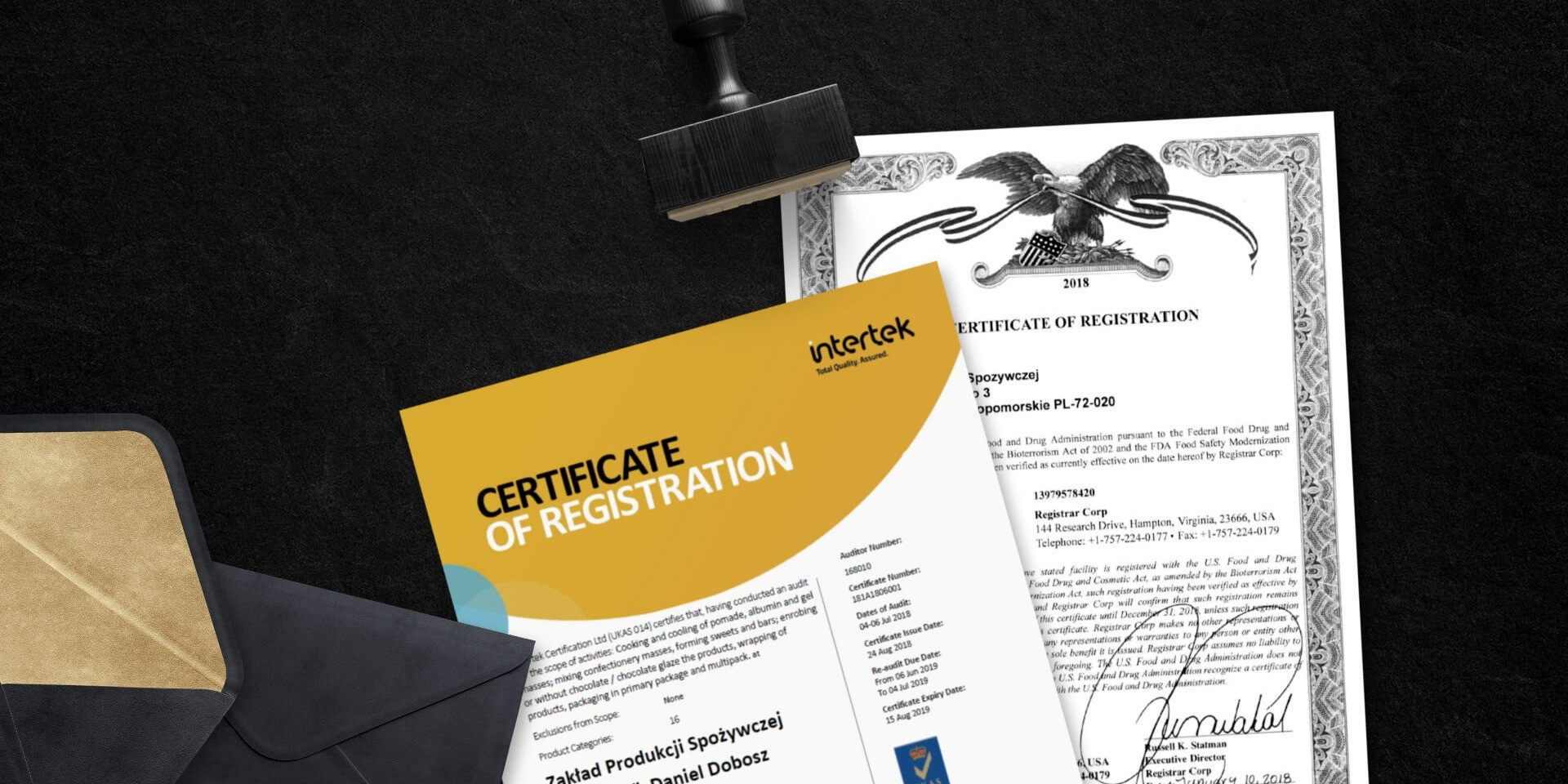 Certyfikat BRC
