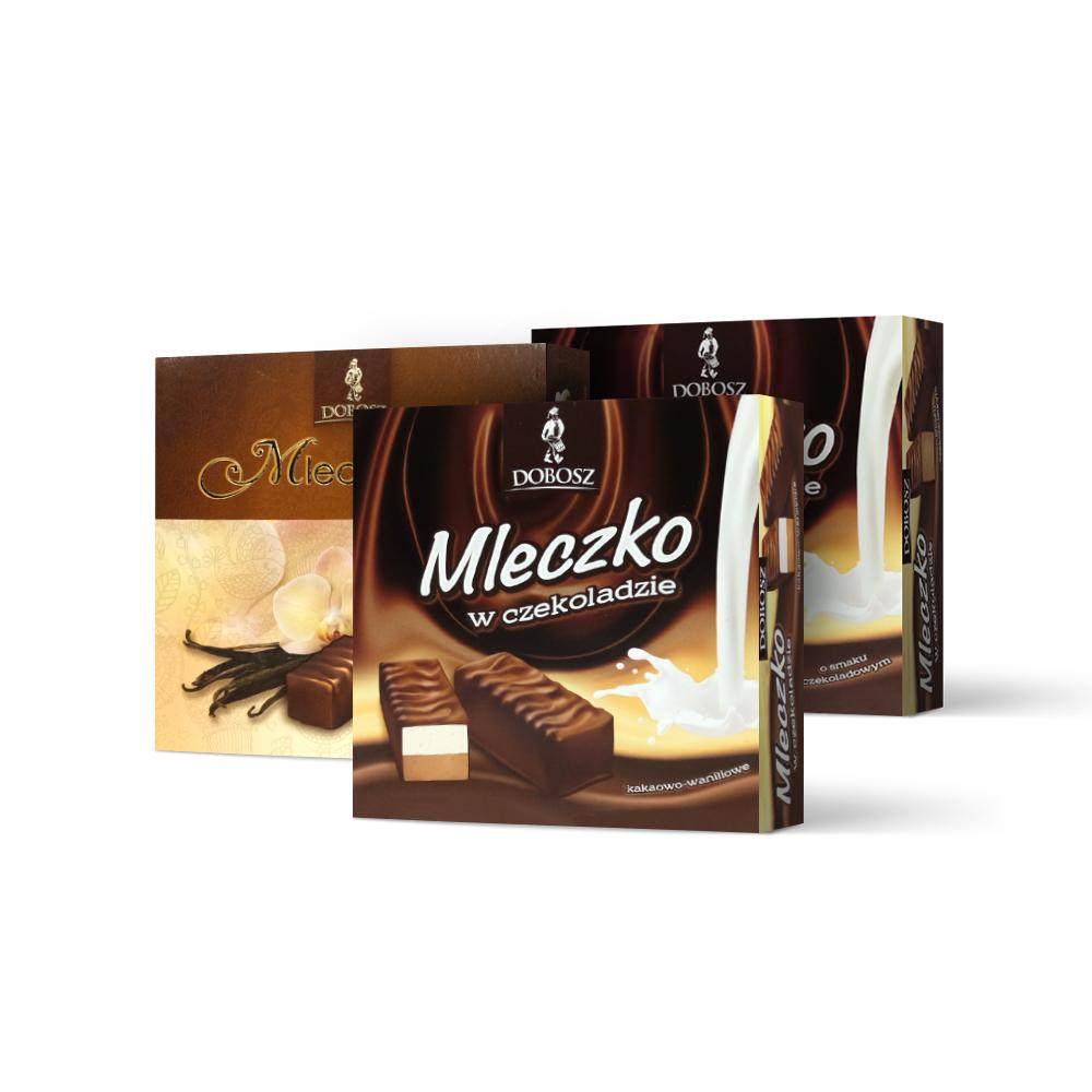 Mleczko w czekoladzie