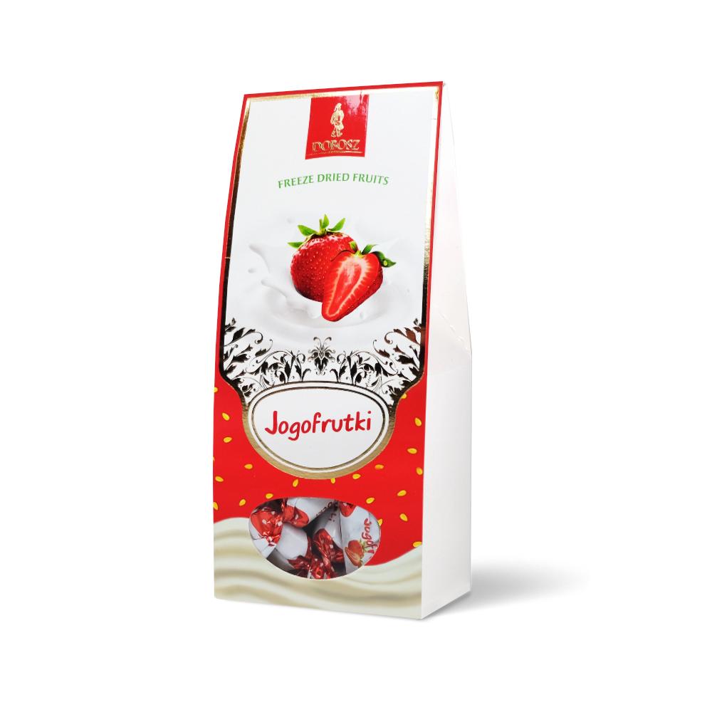 Jogofrutki o smaku truskawkowym