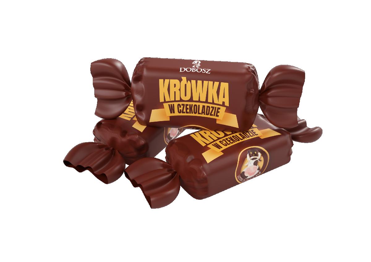 Fudge in chocolate